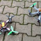 Quad vs Hexa Copter - Learnings from self making