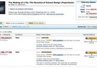 How can a $35 book go upto $23,698,655.93 (plus $3.99 shipping) at AMAZON? Real Story !